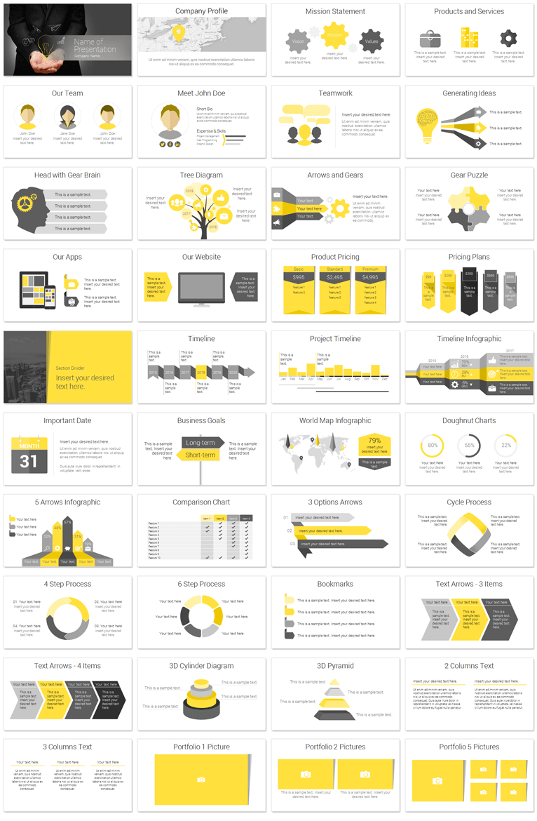 innovation powerpoint template work pinterest templates