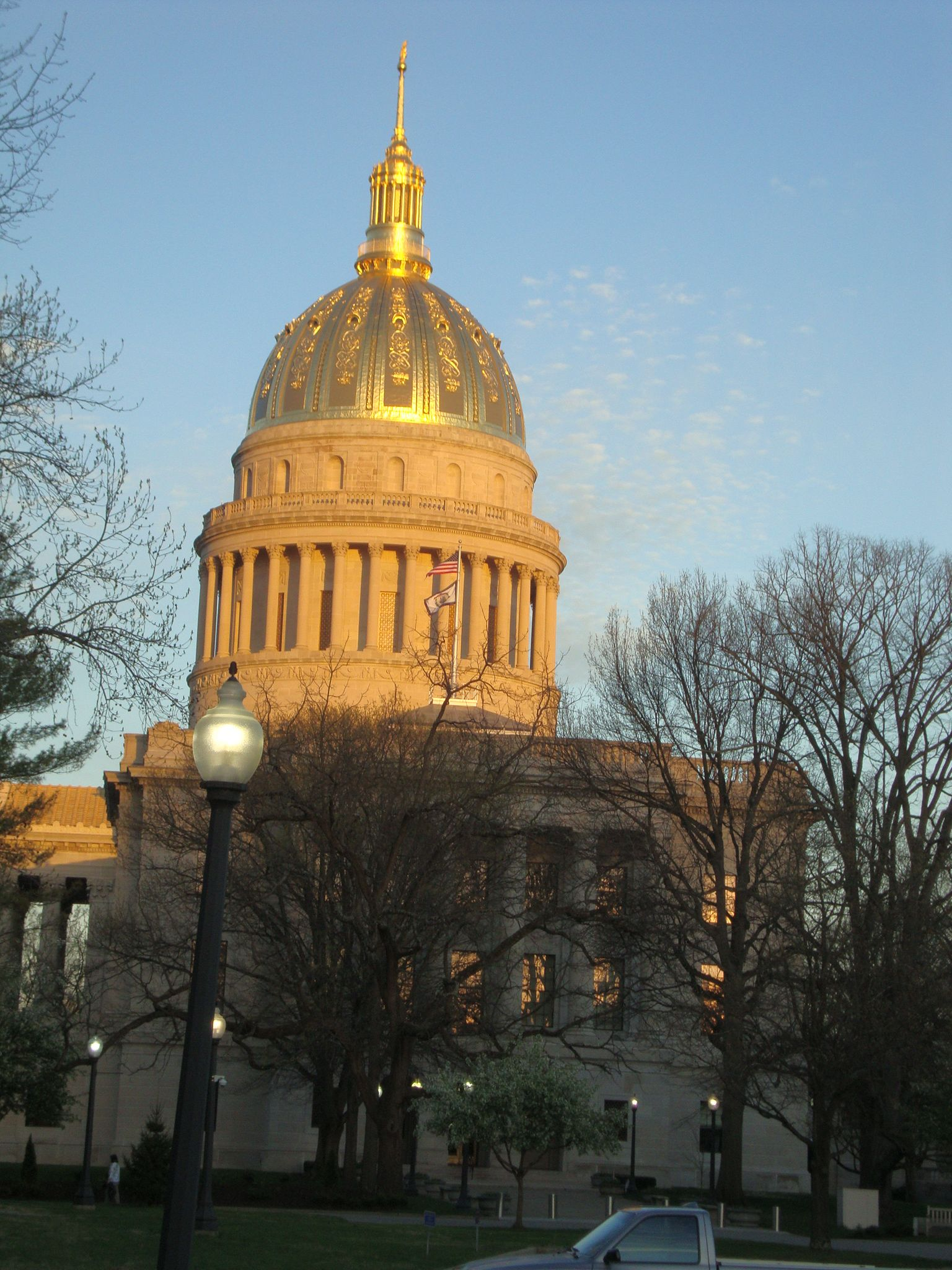 Wv State Capital At Sunset One Of The Most Beautiful
