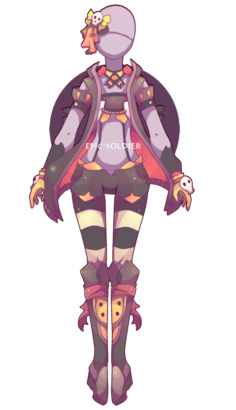 Costume adoptable 24 (CLOSED) by Epic-Soldier.deviantart.com on @DeviantArt