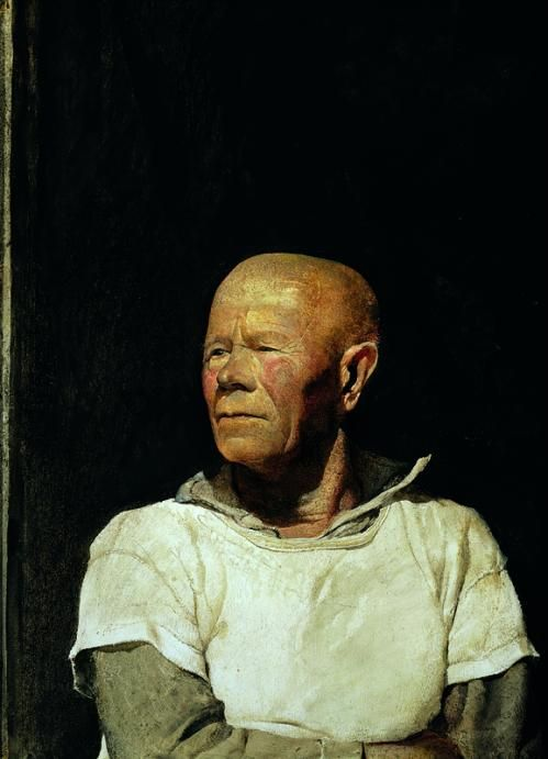 Vintage Art Andrew Wyeth Captain Cook 1986 The Patriot 1964 Military Officer