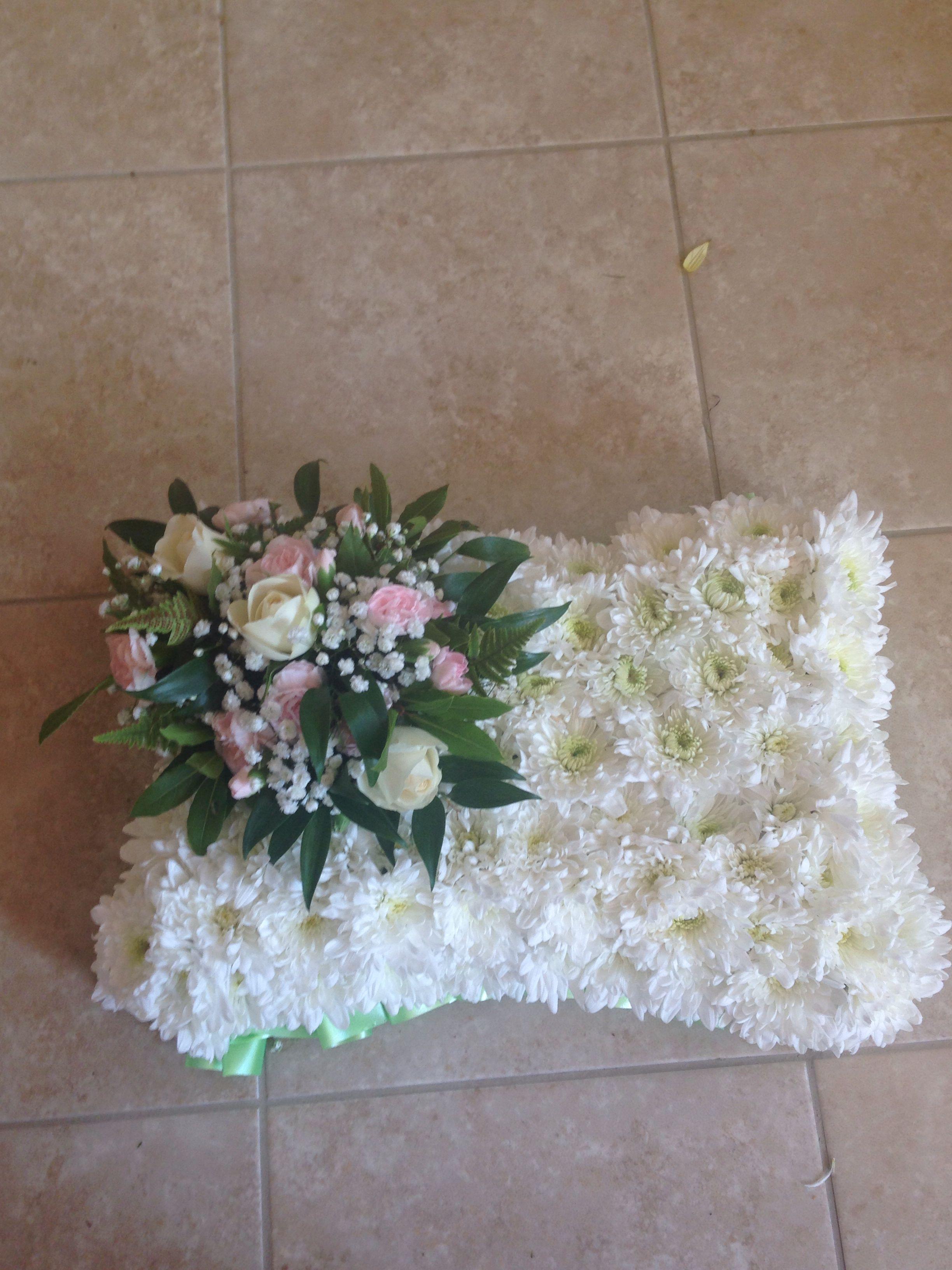 Funeral Pillow Sympathy Arrangements Pinterest Funeral