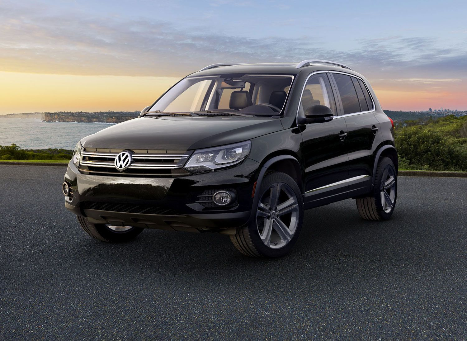 2017 Volkswagen Tiguan In Black