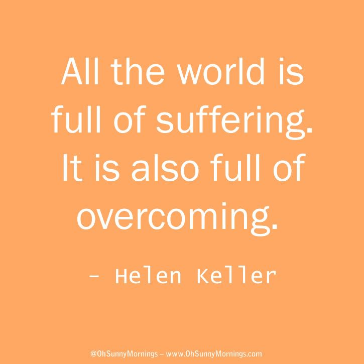 life is full of suffering quote
