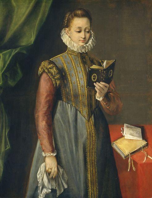 Federico Barocci Quintilia Fischieri Probably C 1600 Artsy National Gallery Of Art Woman Reading Portrait