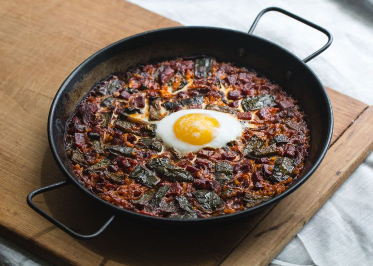 Breakfast Paella     Mario Batali