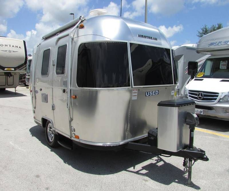 Used 2017 Airstream Bambi Sport 16 Travel Trailers For Sale In Port St Lucie Florida La Mesa Airstream Trailers For Sale Airstream Bambi For Sale Airstream