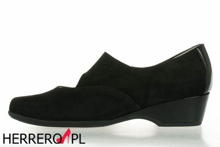 Czolenka Waldleufer 566302 Schw Shoes Wedges Fashion