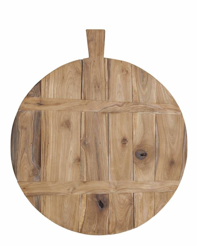 hk living schneidebrett aus teakholz braun 50cm 49 95. Black Bedroom Furniture Sets. Home Design Ideas