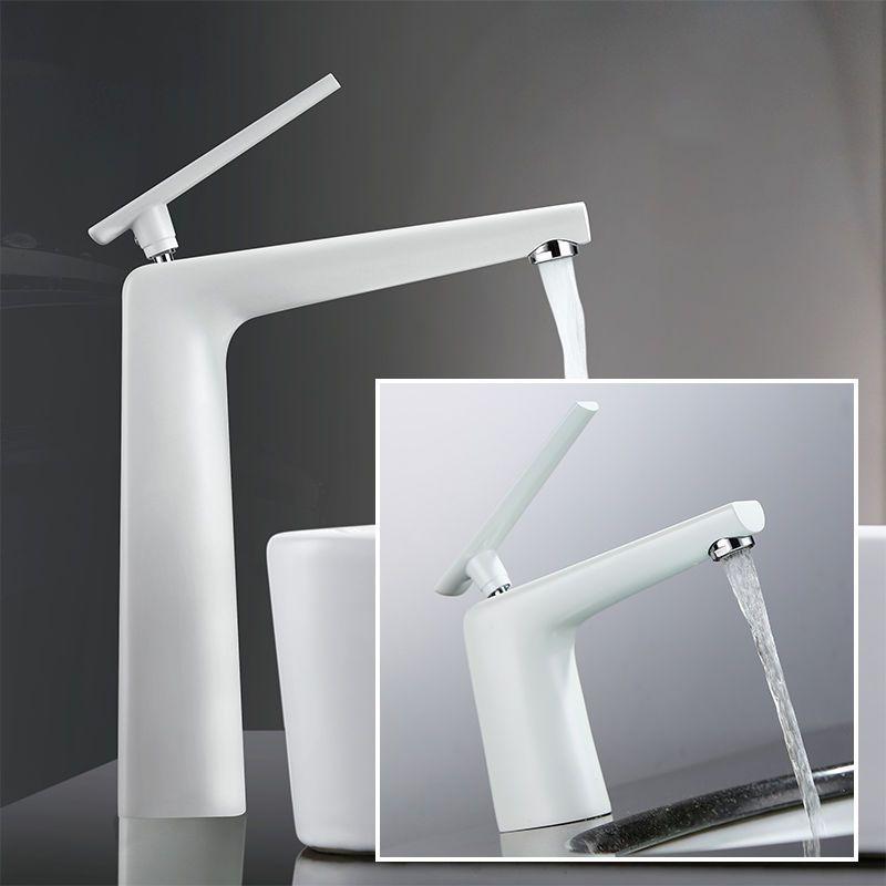 Details zu Design Weiß Mischbatterie Waschtisch Einhandmische - wasserhahn küche weiß