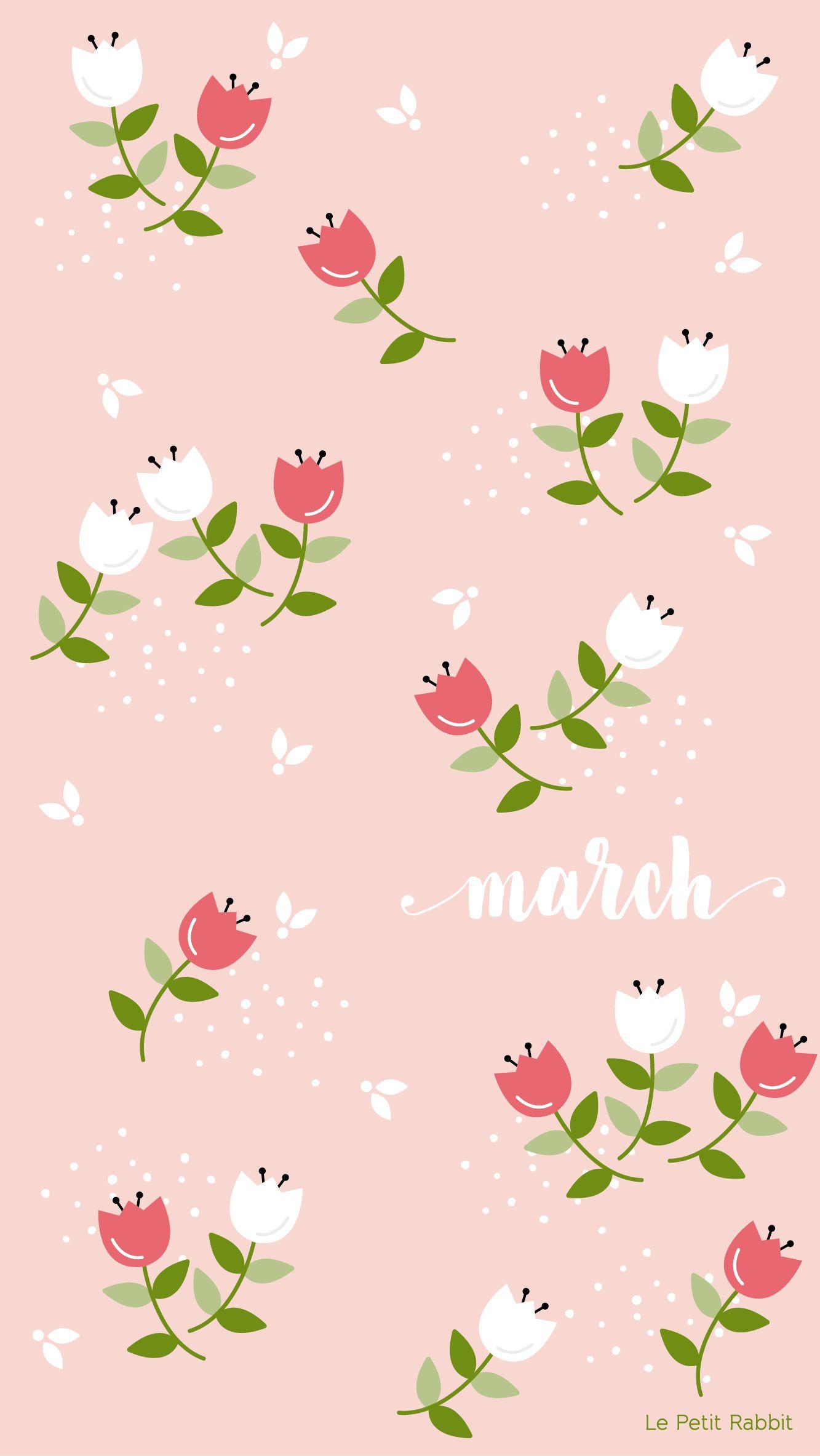 Free Iphone Wallpaper By Le Petit Rabbit Cute Wallpaper