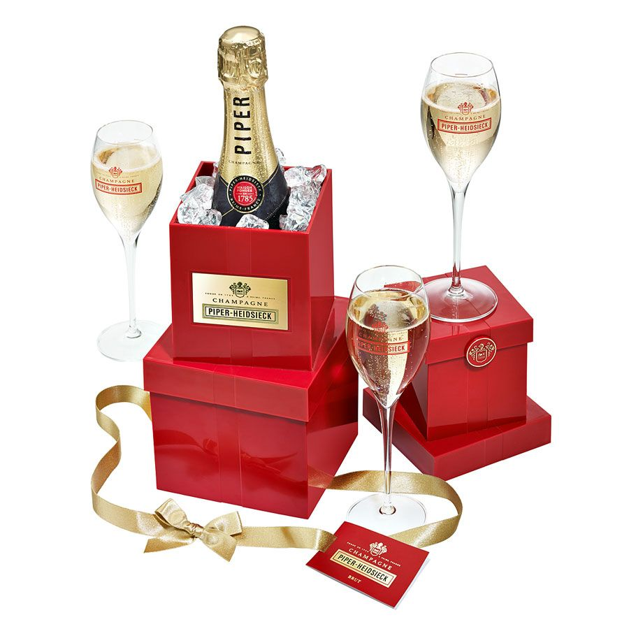 Piper Heidsieck Grand Present Giftpack Wine Gifts Champagne Wine And Spirits