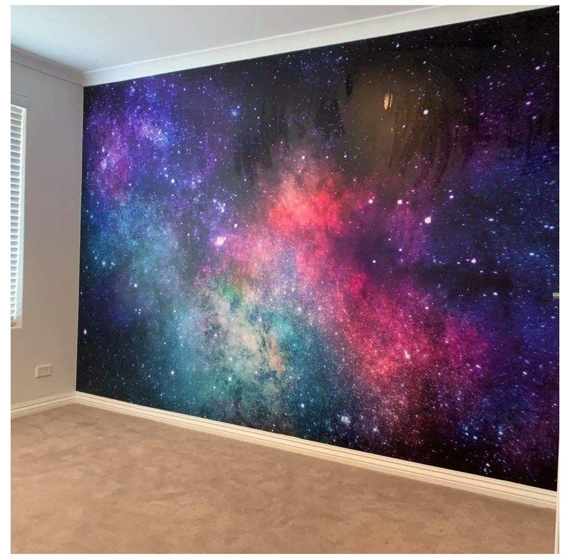 Galaxy Wall Mural Galaxywallmural Bedroom Paint Designs