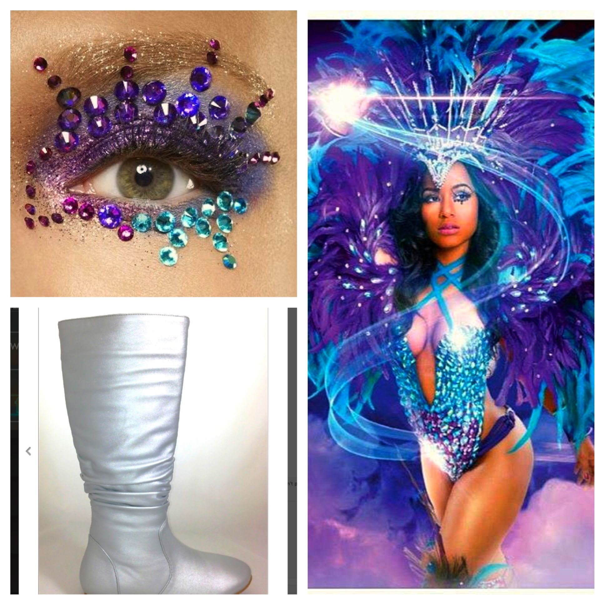 Get the look yuma cirque alegria all things carnival pinterest