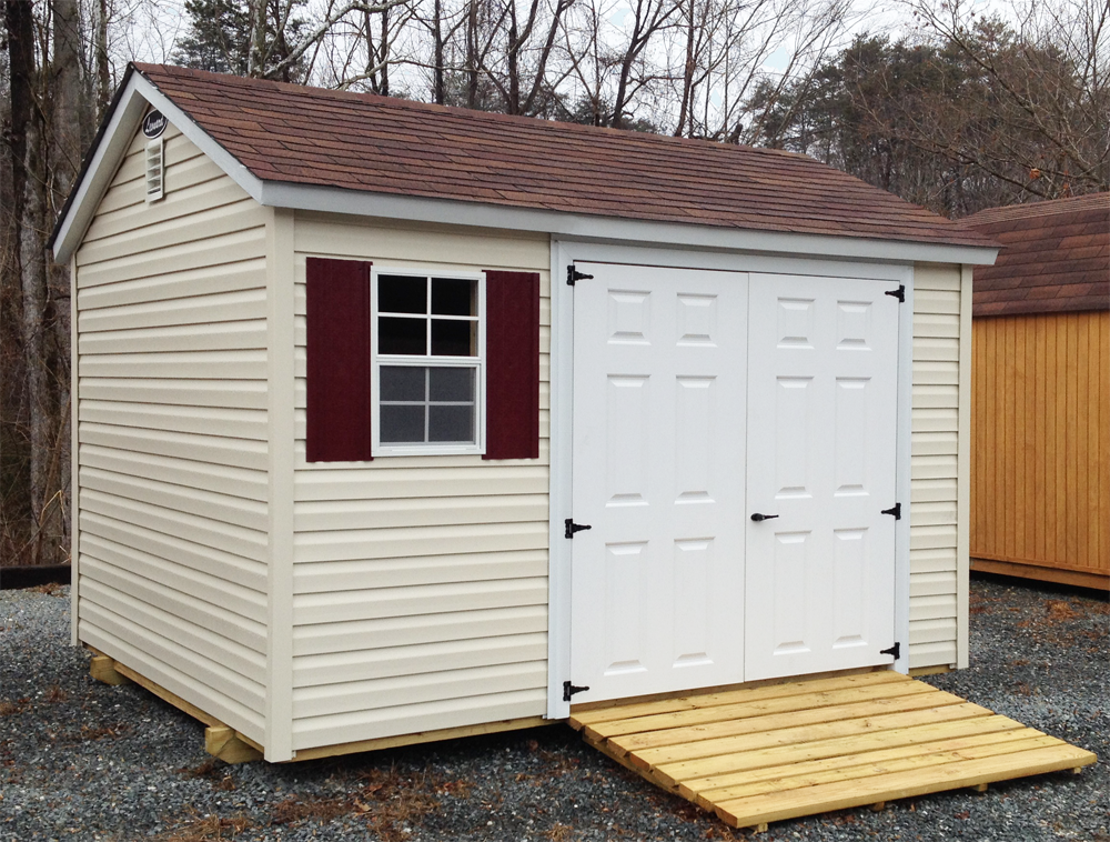 ranch sheds leonard buildings truck accessories vinyl storage - Garden Sheds Vinyl