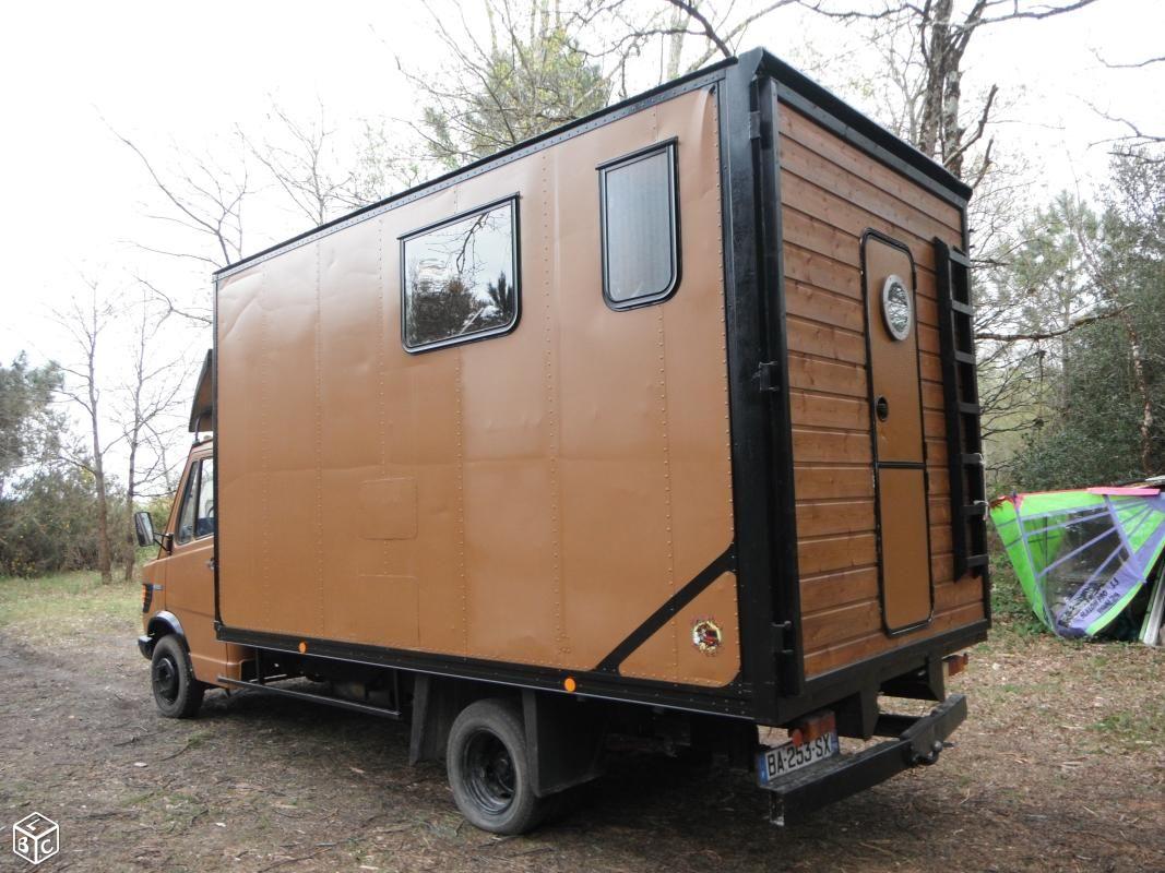 camion am nag mercedes 409 caisse camtar pinterest camion amenager mercedes et caisse. Black Bedroom Furniture Sets. Home Design Ideas