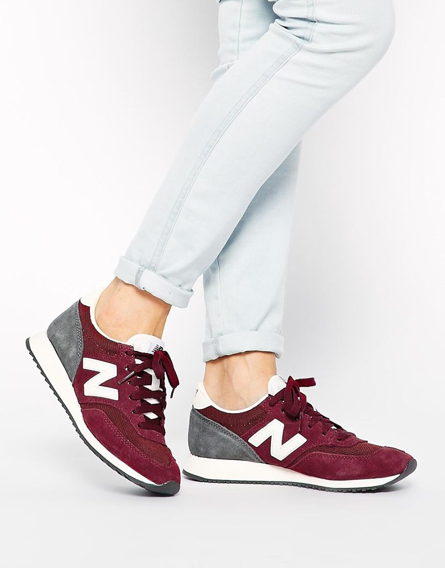 new balance 420 bordeaux marron