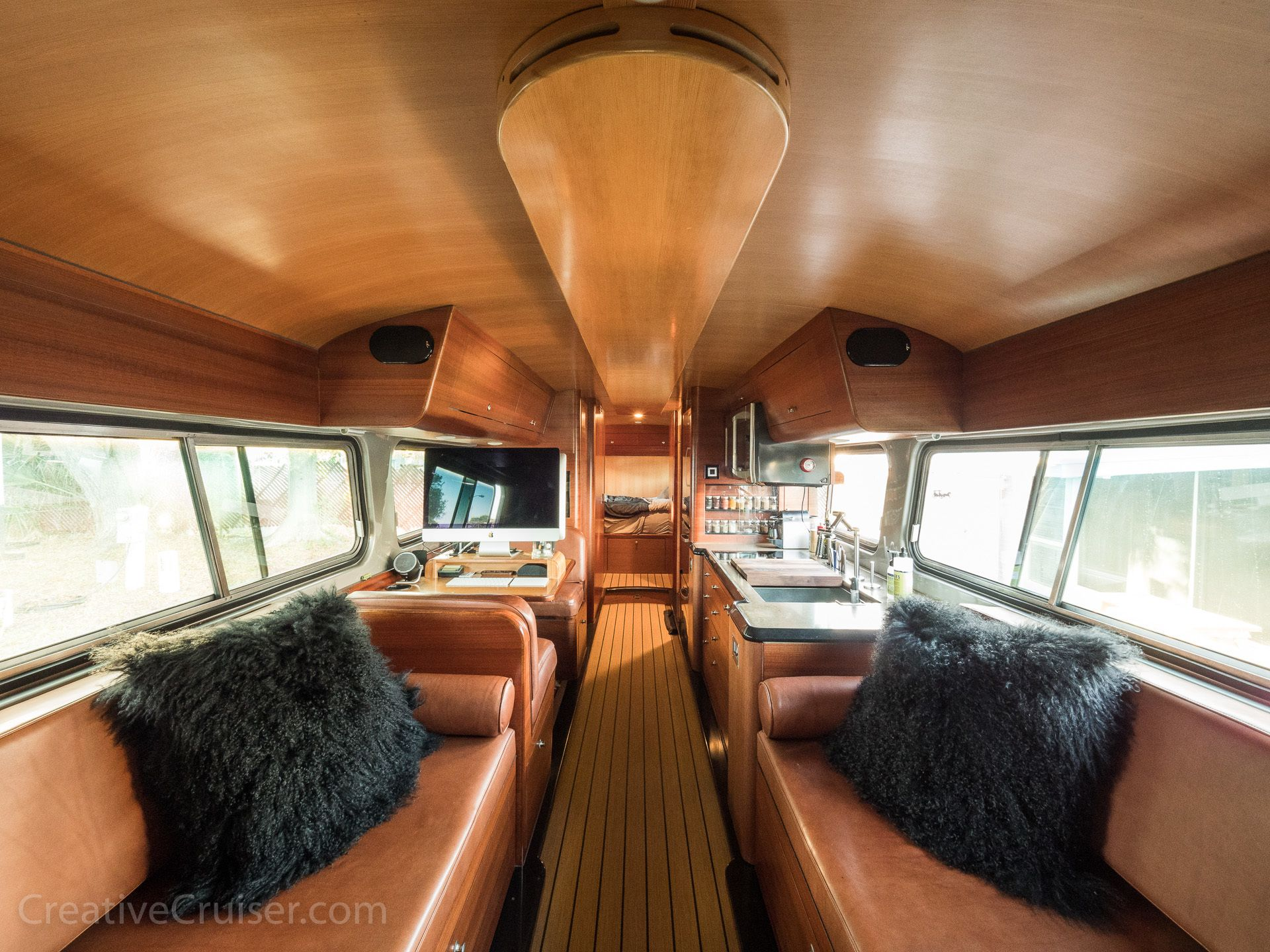 The Creative Cruiser (With images) Motorhome interior