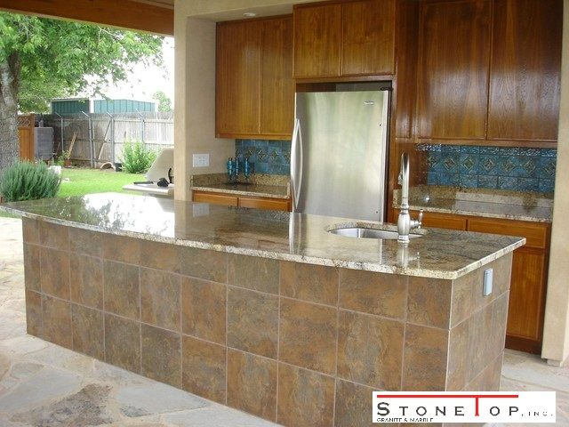 outdoor kitchen countertops with natural stone natural quartz countertops is really a added be on outdoor kitchen quartzite id=86641