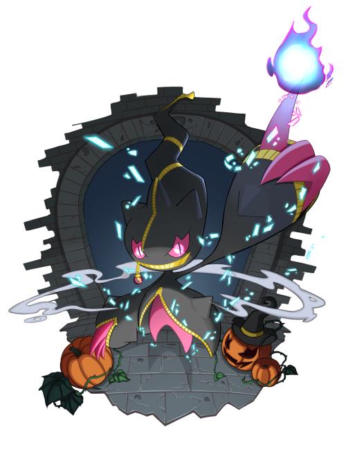 Mega banette by j acky pokimon ghost pokemon pokemon - Branette pokemon y ...