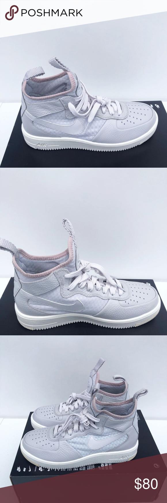 Nike Air Force Ultraforce MID Grey Womens Nike Air Force 1