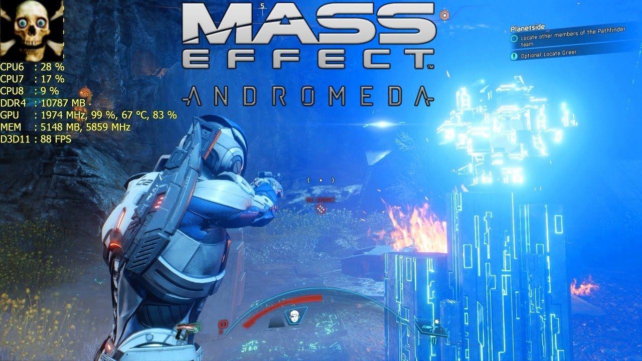 Mass Effect Andromeda Gtx 1080 TI Ultra Settings