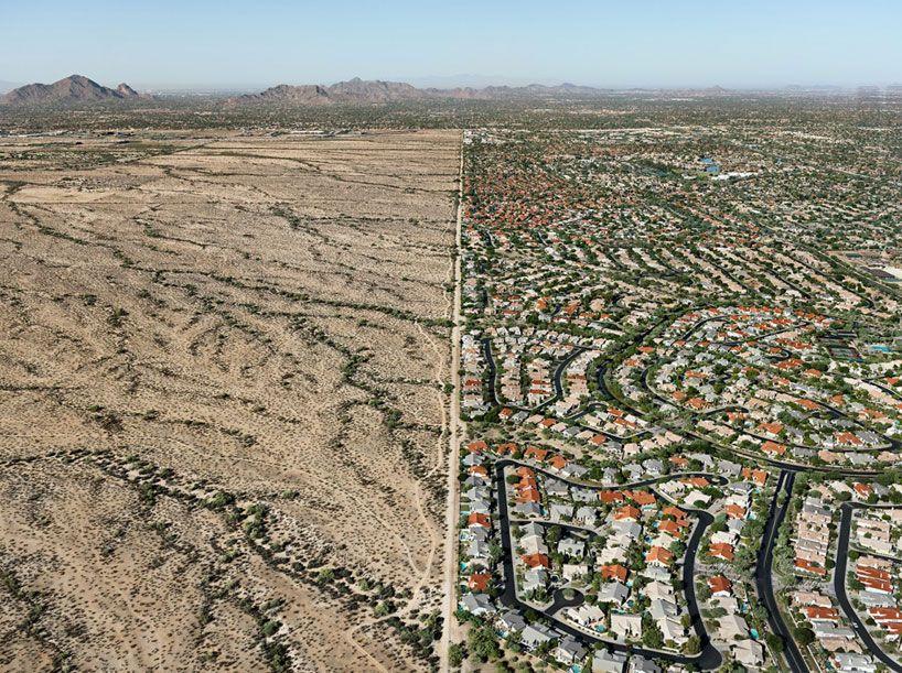 navajo reservation / suburb, 2011 phoenix, arizona, USA chromogenic print image courtesy of edward burtynsky/nicholas metivier gallery