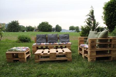 paletten lounge sessel sitzbank hocker outdoor pinterest paletten lounge lounge sessel. Black Bedroom Furniture Sets. Home Design Ideas