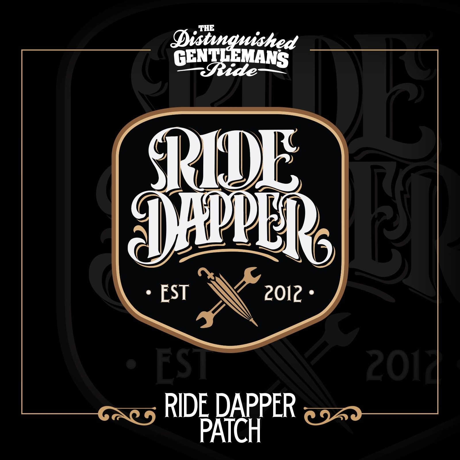 Ride Dapper Patch After Donating 200 Patches Riding Toowoomba [ 1600 x 1600 Pixel ]