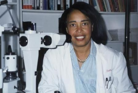 Patricia Bath, M.D., Ophthalmologist, inventor of the Laserphaco Probe for the treatment of cataracts. Born in Harlem New York in 1942, Bath holds a bachelor's degree from Hunter College and an M.D. from Howard University. She is a co-founder of the American Institute for the Prevention of Blindness.
