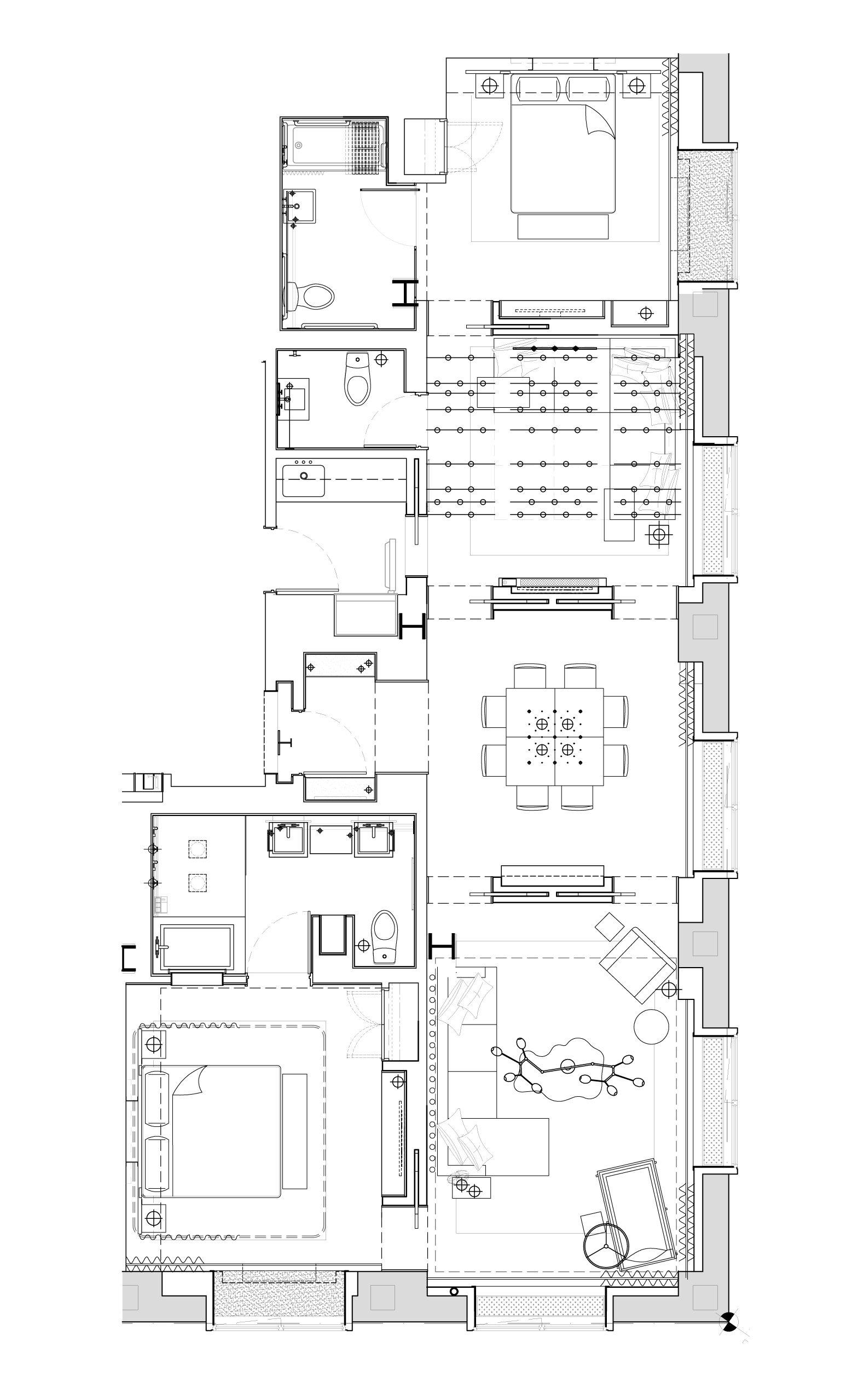 Hotel Room Floor Plan: Hotel Floor Plan, Hotel Suite Plan
