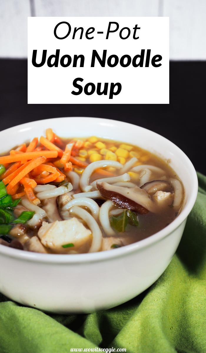 Easy Vegan Udon Noodle Soup | Recipe in 2020 | Healthy soup recipes, Soup  recipes, Udon noodles recipe