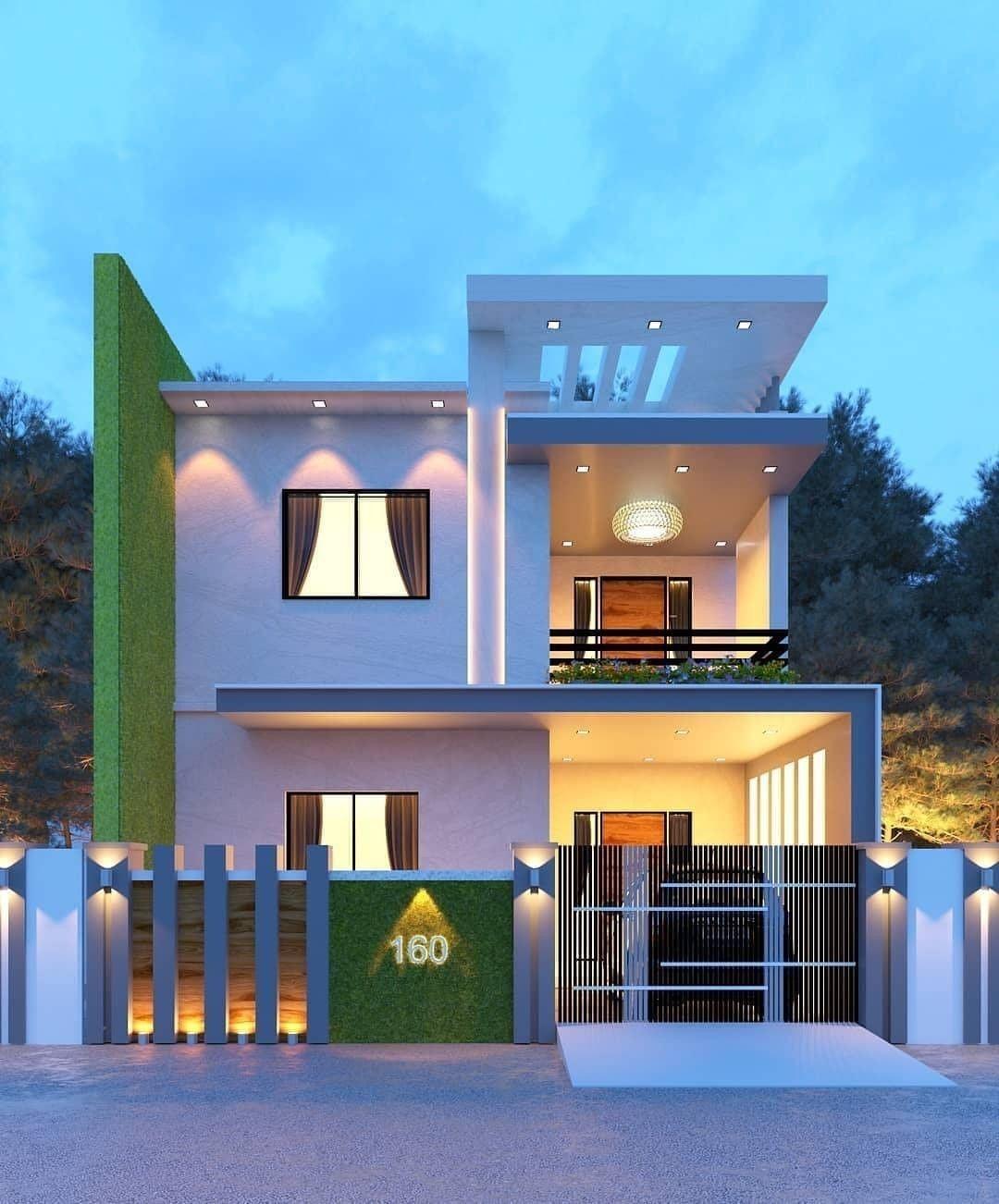 Pin By Mirela Jankovic Kapuran On Modern House Design Ideas Modern House House Front Design Modern House Design