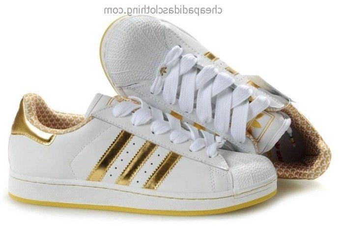 Birmingham Adidas Original Superstar White Gold : adidas