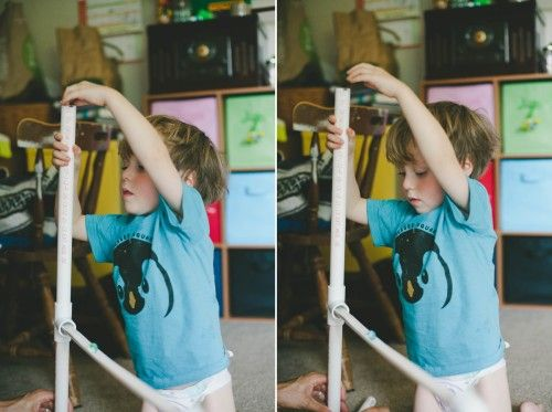 How to DIY a marble run with PVC pipe and not much else | Offbeat Mama