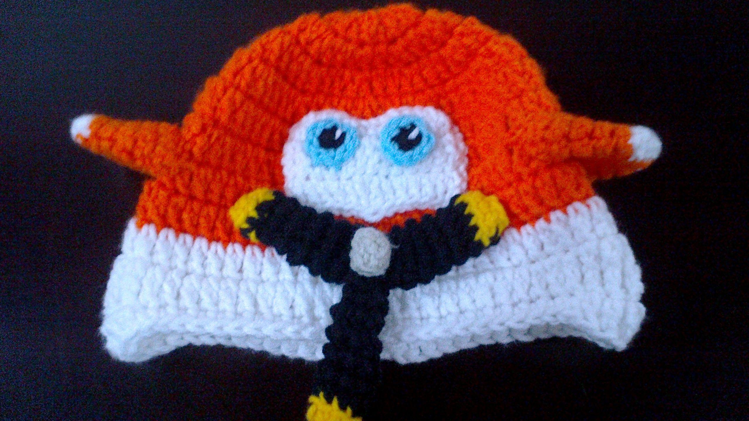 Gorro Avion a crochet