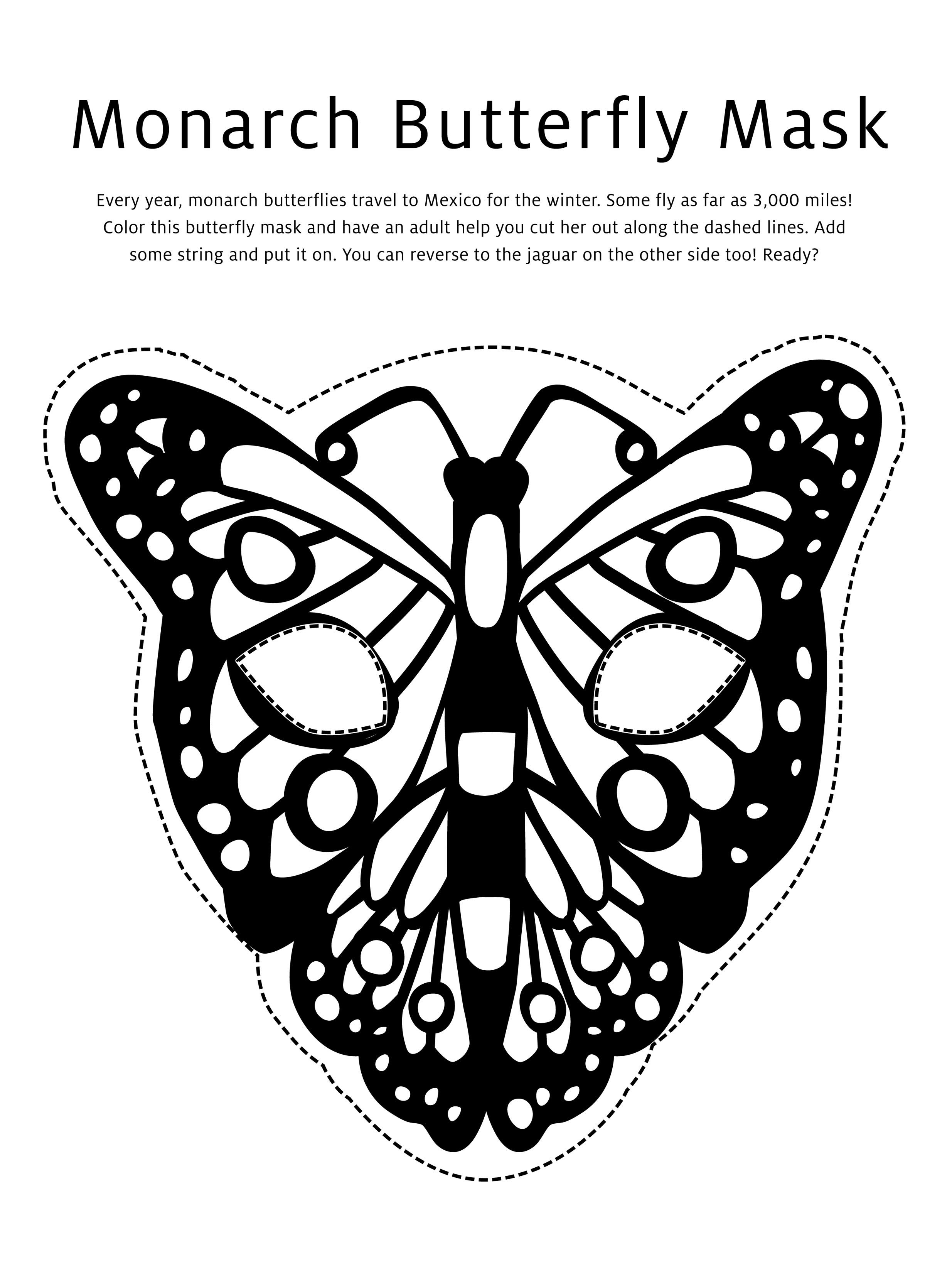 Butterfly Mask Coloring Page Kids Printable Coloring Pages Butterfly Mask Butterfly Coloring Page