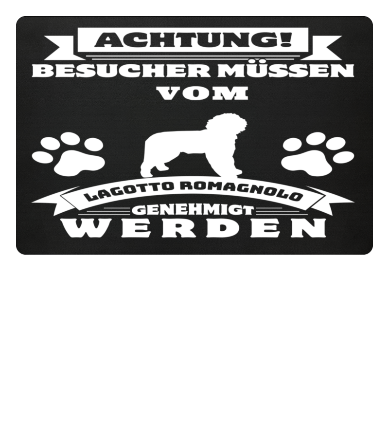 Lagotto Romagnolo Fussmatte Schweizer Schaferhund Fussmatte Lustiges Design
