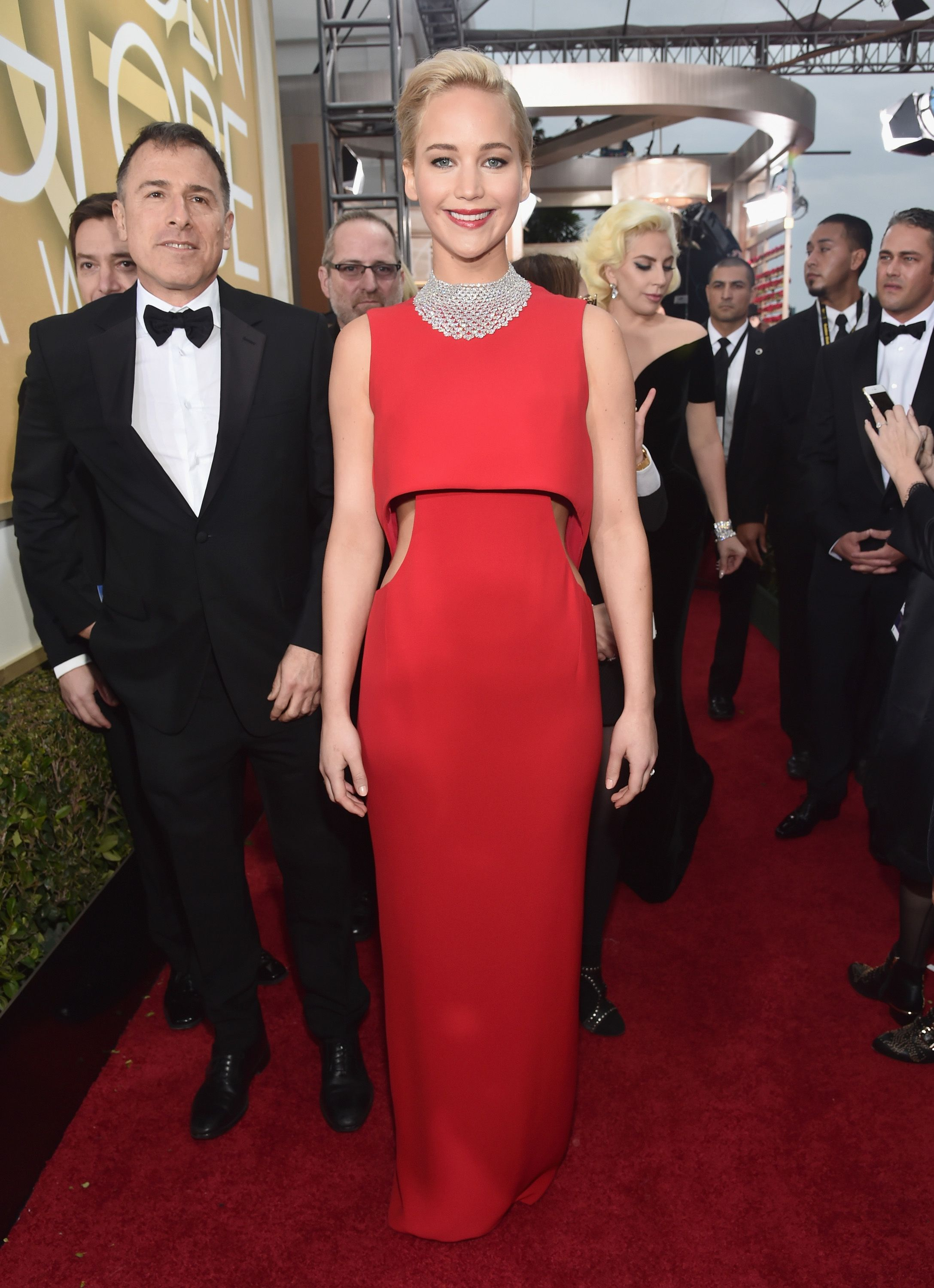 Golden globes the best dressed celebrities on the red carpet