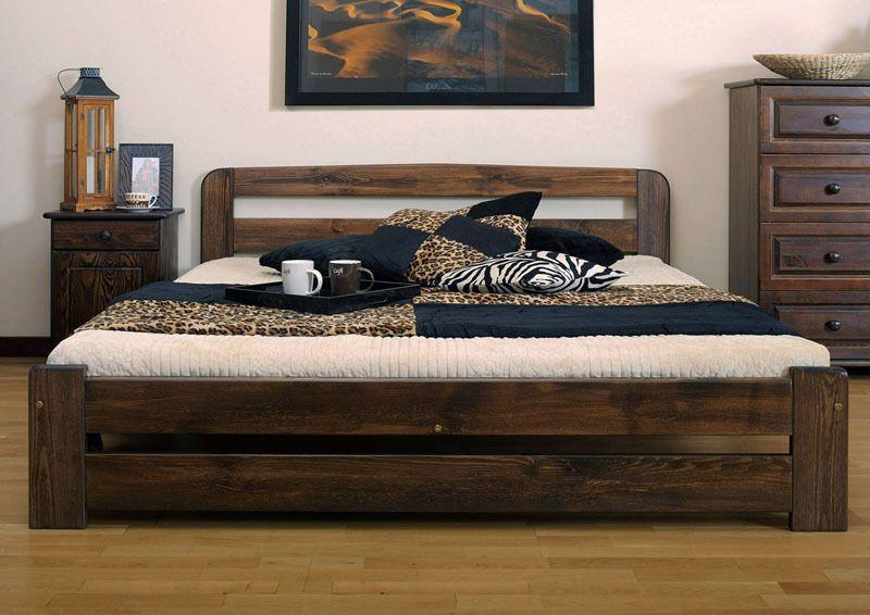NODAXSOLID WOODEN BEDROOMPINE SUPER KING SIZE BED 6ft FRAME IN