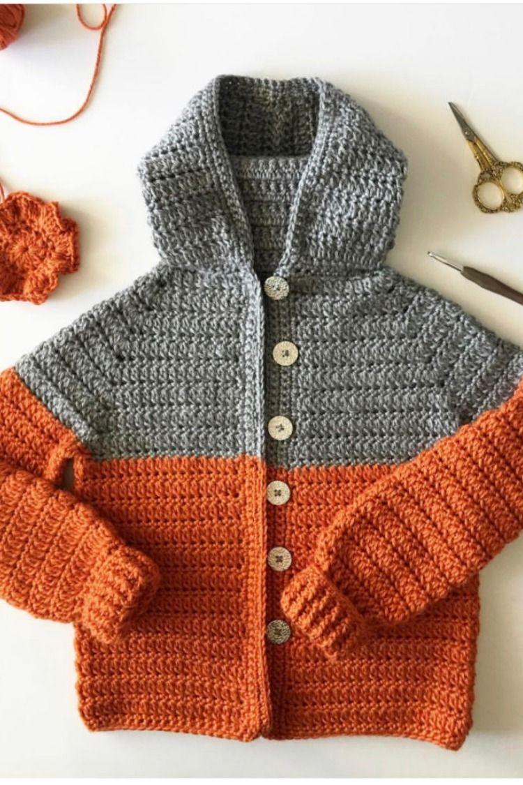 Free Pattern Crochet Color Block Sweater Free Crochet Patterns