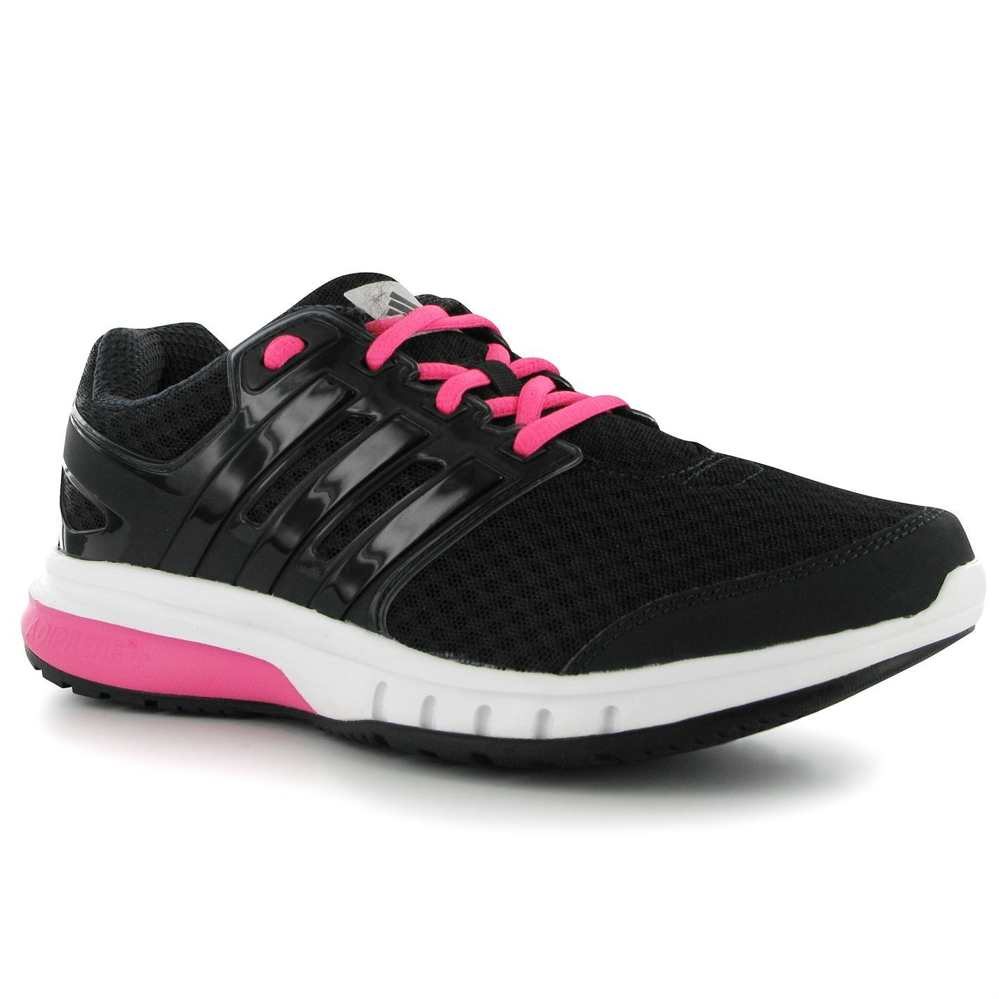 Adidas Black Pink Ladies Running Shoes Running Shoes Elite Falcon 3 Ladies