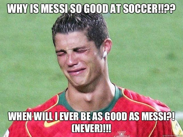 Messi And Ronaldo Jokes Soccer Quotes Funny Soccer Funny Soccer Jokes