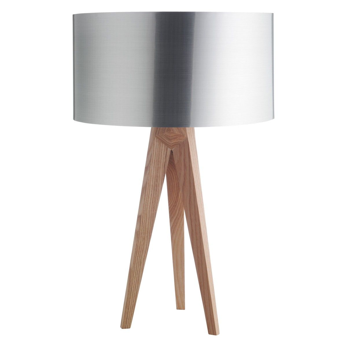 Myndaniurstaa fyrir tripod lamps heimili pinterest tripod make an impact with this tripod table lamp base with tapered legs crafted from solid ash in a clear lacquer finish buy now at habitat uk aloadofball Images