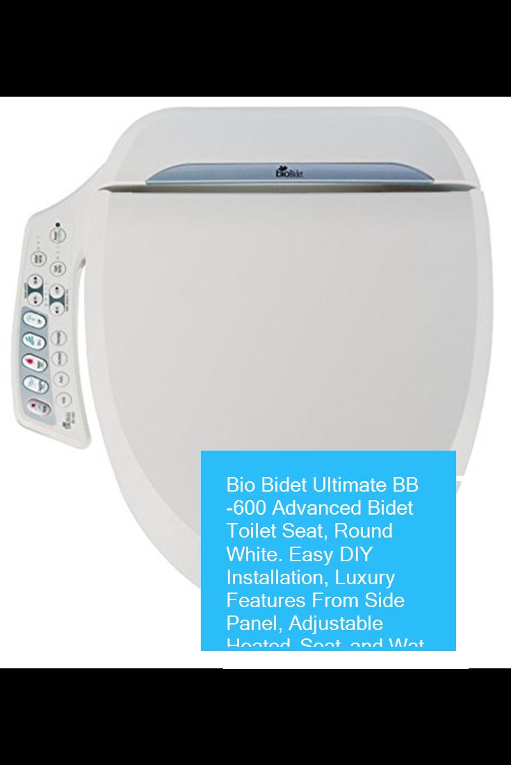 Awesome Bio Bidet Ultimate Bb 600 Advanced Bidet Toilet Seat Round Machost Co Dining Chair Design Ideas Machostcouk