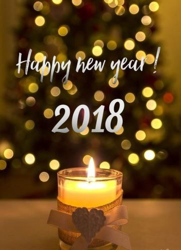 Happy New Year 2018 Quotes To Wish Friends Family.Happy New Year! May The