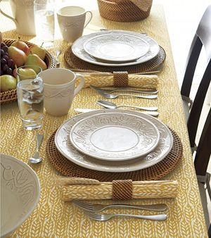 : crate and barrel table settings - pezcame.com