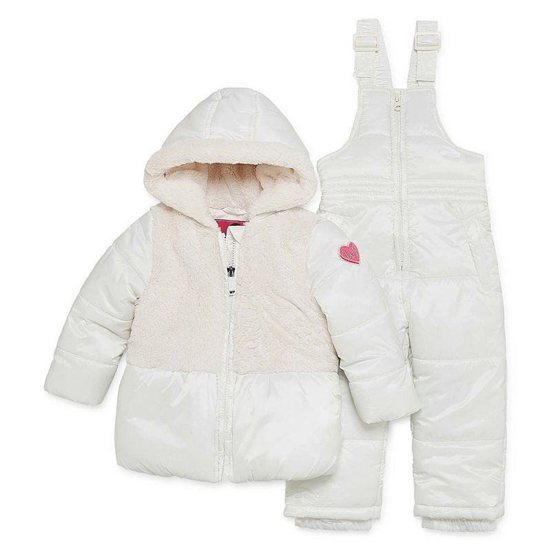 07f6be5c8 Weatherproof Heavyweight Snow Suit-Baby Girls | Products | Snow suit ...