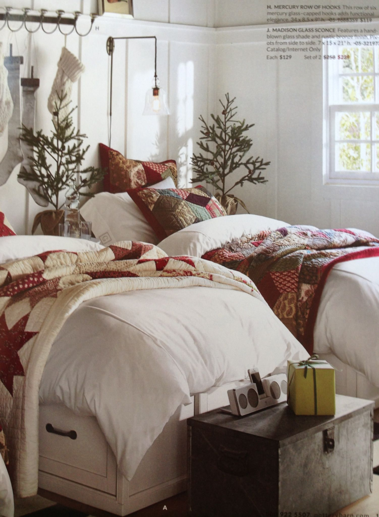 Why Not Bring The Christmas Spirit Into The Bedroom