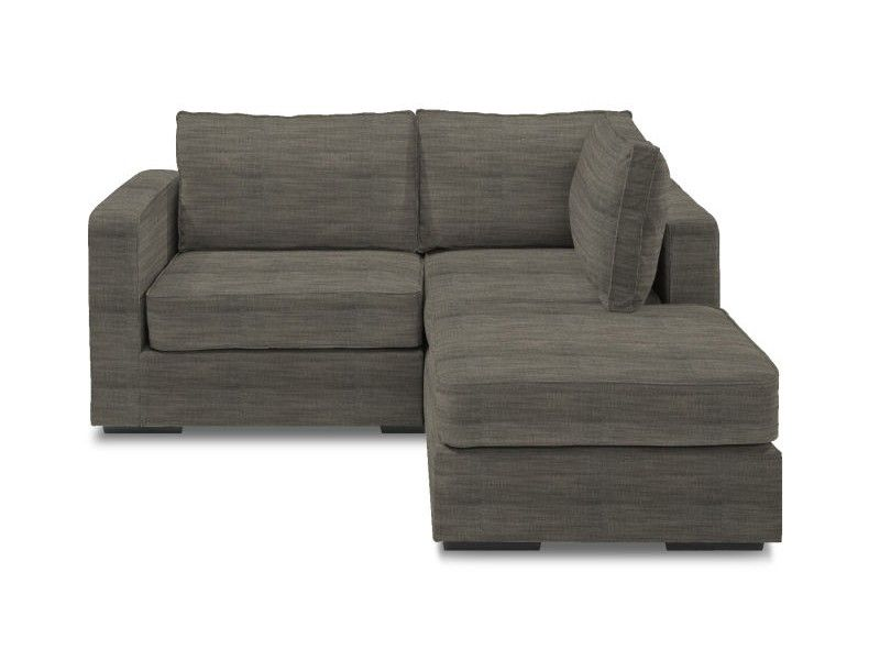 5 Series Small Chaise Sectional with Grey Tweed Covers  sc 1 st  Pinterest : small loveseat with chaise - Sectionals, Sofas & Couches