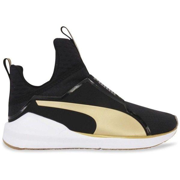 Puma Fierce Gold High Top Sneakers ($90